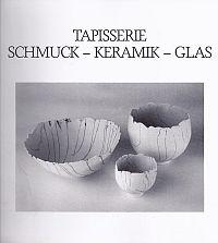Katalog zur GEDOK-AUsstellung Tapisserie-Schmuck-Keramik-Glas