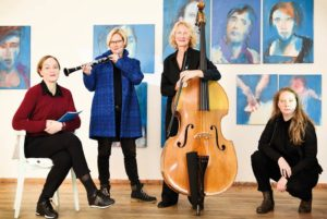 Liquid space - Johanna Hansen, Christina Fuchs, Romy Herzberg, Elena Hill