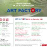 Die ART FACTORY präsentiert im Rahmen der Offenen Ateliers