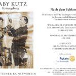 Einzelausstellung mit Gaby Kutz